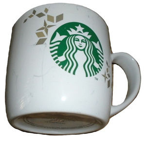 Starbucks Vintage 2013 Holiday Coffee Cup 14 oz